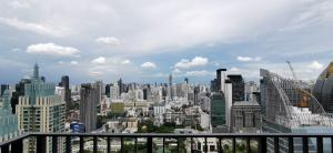 Sale DownCondoWitthayu,Ploenchit  ,Langsuan : For sale (for sale) 28 CHIDLOM 1Br. 43.95 sq.m., 38th floor, east side, very beautiful view, no block view