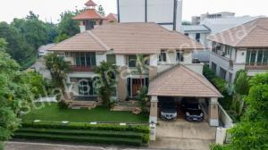 For SaleHouseLadkrabang, Suwannaphum Airport : House with the best location Best price in Chaloem Phrakiat Rama IX area