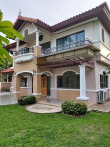 For SaleHouseLadkrabang, Suwannaphum Airport : The right home for the people who like it!! House for sale, 2 floors, 118 sq.wa., Supalai Village, Suvarnabhumi, Lad Krabang Rd.