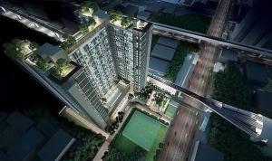 For RentCondoRama9, RCA, Petchaburi : 🌈.Room 1~Bed, the largest, Life Asoke 🚇 MRT Phetchaburi 0 meters 🌈