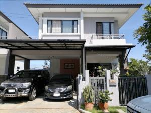 ขายบ้านสำโรง สมุทรปราการ : ขายบ้านแฝด อารมณ์บ้านเดี่ยว เอโทล จาวาเบย์ Atoll Java Bay 3 ห้องนอน 130 ตร.ม.