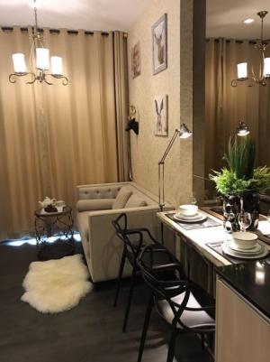 For RentCondoSukhumvit, Asoke, Thonglor : For rent Edge 23, very beautiful room, luxurious decoration 🔥