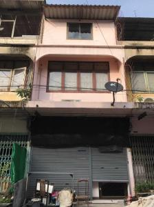 For RentHome OfficeOnnut, Udomsuk : H461-Home office for rent, 3-storey commercial building, Sukhumvit 54, near BTS On Nut, only 500 meters.