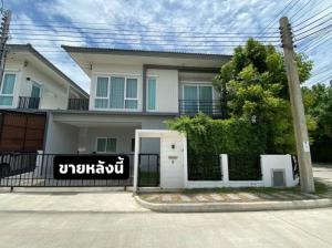 For SaleHouseRathburana, Suksawat : Twin house for sale, Village Q District, Suksawat - Rama 3 Ring Road.