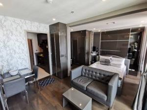 เช่าคอนโดราชเทวี พญาไท : ให้เช่าห้องสวยราคาน่ารักน่ารัก Ideo q siam Ratchathewi ขนาด 35 ตรม 18,000/เดือน  1 bedroom 1ห้องนอน 1 ห้องน้ำ ชั้น34 ทิศเหนือ  ใกล้ BTS ราชเทวี