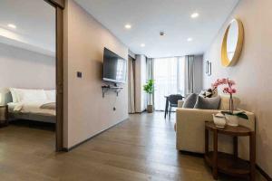 For RentCondoSiam Paragon ,Chulalongkorn,Samyan : Condo for rent KLASS Siam Type 1 bedroom 1 bathroom Size 44 sq.m. Floor 3 City View