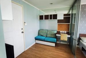 For RentCondoRattanathibet, Sanambinna : W0158# Condo for rent, Lumpini Ville Phibulsongkhram, size 23 square meters, 1 bedroom, 1 bathroom, minimum 1 year contract, rent 6,500 baht / month