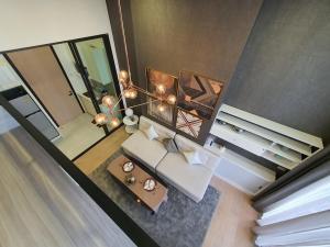 For RentCondoRama9, RCA, Petchaburi : Chewathai Residence Asoke 🍁 Beautifully decorated room 🍁 Duplex 2 floors 🍁 Rental price 24000 baht only
