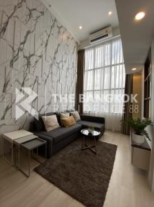 เช่าคอนโดสาทร นราธิวาส : ห้องDuplexตกแต่งสวยมาก ราคาดี !! Knightsbridge Prime Sathorn ฺBtsช่องนนทรี ใจกลางสาทร