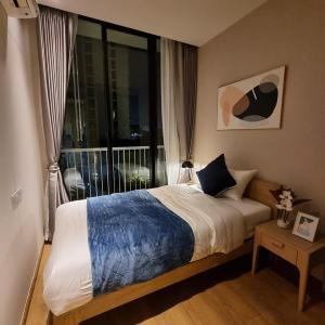 For RentCondoSukhumvit, Asoke, Thonglor : SK03278 Park Origin Phrom Phong for rent, size 53 sqm., 3rd floor, garden view ** BTS Phrom Phong **