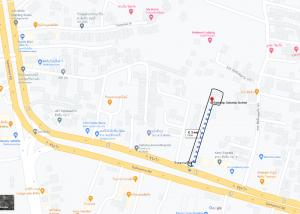 For SaleLandPattaya, Bangsaen, Chonburi : Land on Sukhumvit Road Opposite Lotus Sattahip 2 rai 1 ngan 41 sq.wa.