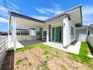 ขายบ้านเชียงใหม่ : CSS100692 บ้านสร้างใหม่ 3 บรรยากาศดี เงียบสงบ 3 ห้องนอน 2 ห้องน้ำ พื้นที่ 51.2 ตร.ว.