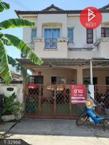 For SaleTownhouseRangsit, Patumtani : Townhouse for sale behind the rim. KC Cluster Nimitmai Pathum Thani