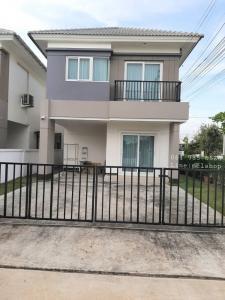 For RentHouseBangbuathong, Sainoi : For rent, twin houses, behind the corner of Chuan Chuen University 💢 Soi Kantana, Bang Yai, near Khlong Prapa, near Anek Temple
