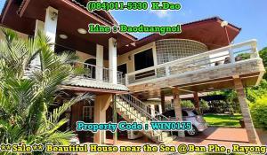 ขายบ้านระยอง : *** Beautiful House near the Sea *** For Sale +++ Ban Phe @Rayong +++