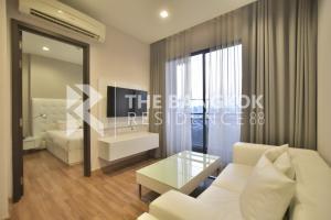 For RentCondoRatchadapisek, Huaikwang, Suttisan : Super Luxury Condo for Rent! Near MRT Phra Ram 9 - Ivy Ampio @20,000 Baht/Month