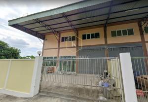 For RentWarehouseRama 2, Bang Khun Thian : Warehouse for rent with office, 400 sq.m., Rama 2 Road, Bang Khun Thian District, Bangkok.