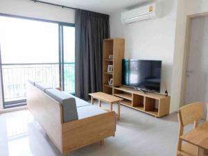 For RentCondoSukhumvit, Asoke, Thonglor : Ready move in! Rhythm Sukhumvit 36 1 bedroom 2 bathroom 41.5 sq.m. Corner unit  Fl.11          room