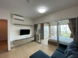 For RentCondoRama9, RCA, Petchaburi : Ready move in! Supalai Veranda Rama 9 for rent 1 bedroom 1 bathroom 37.5 sq.m. Floor 8