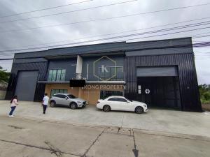 เช่าโกดังรังสิต ธรรมศาสตร์ ปทุม : ให้เช่าโกดัง พร้อมออฟฟิศ 470 ตร.ม. ลำลูกกา คลอง 4 ปทุมธานี  Warehouse for rent with office 470 sq.m., Lam Luk Ka, Khlong 4, Pathum Thani.