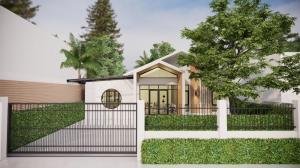 For SaleHouseKaset Nawamin,Ladplakao : Single detached house for sale, newly renovated, Scandinavian style, size 65 sq.wa., 3 bedrooms, 2 bathrooms, Soi Prasert-Manukit 46, near Chocolate View