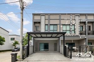 For SaleTownhouseRama5, Ratchapruek, Bangkruai : Townhome 2 floors, V Compound Ratchaphruek-Pinklao, corner plot, good condition, ready to move in.
