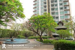 For SaleCondoRama9, RCA, Petchaburi : Sale with Tenant!! 30+ High Floor 2B2B Condo for Sale Near MRT Phetchaburi - Circle Condominium @7.75 MB