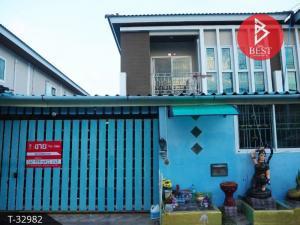 For SaleTownhouseSamrong, Samut Prakan : 2 storey townhouse for sale, Sup Mankong Village 3, Bang Bo, Samut Prakan.