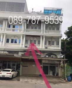 For RentShophouseChengwatana, Muangthong : 5-storey commercial building for rent, Soi Chinnakhet, Ngamwongwan, size 500 sq.m.