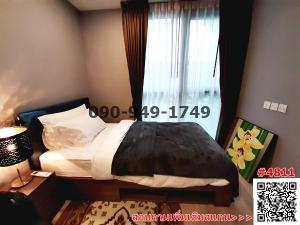 For RentCondoSukhumvit, Asoke, Thonglor : Condo for rent/sale, Taka Haus Ekkamai 12, near BTS Ekkamai, beautiful room, ready to move in.