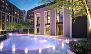 For SaleCondoOnnut, Udomsuk : 🔥 HOT PRICE❗ New project ASPIRE Sukhumvit-On Nut, 2 bedrooms, 50.16 sq.m., price 4.4 million, near BTS On Nut