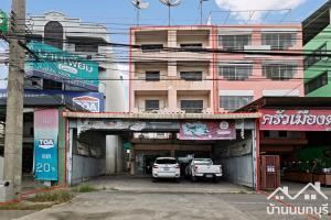 ขายตึกแถว อาคารพาณิชย์นครปฐม พุทธมณฑล ศาลายา : ขาย-เช่า อาคารพาณิชย์  4 ชั้นครึ่ง พุทธมณฑล สาย 4 ทำเลดี ติดถนนใหญ่