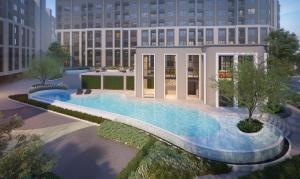 For SaleCondoOnnut, Udomsuk : 🔥 HOT PRICE❗ New project ASPIRE Sukhumvit-On Nut, 2 bedrooms, 52.48 sq.m., price 4.4 million, near BTS On Nut
