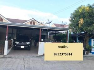 For SaleHousePattaya, Bangsaen, Chonburi : Selling twin houses, convenient transportation, Baan Mantra, Na Pa, Chonburi 152 sqm. 38 sq.wa.