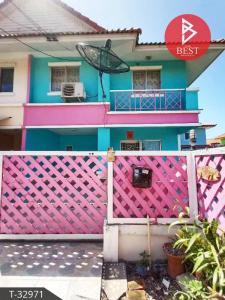 For SaleTownhouseChachoengsao : Townhouse for sale in the corner. Pruksa Village 27/1 Lat Krabang - Chachoengsao Ready to move in