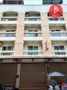 For SaleShophousePattaya, Bangsaen, Chonburi : 5 storey commercial building for sale, Saensuk Subdistrict, Mueang Chonburi District, ready to move in