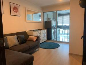 For RentCondoSathorn, Narathiwat : Condo for rent Rhythm Sathorn-Narathiwat Type 1 bedroom 1 bathroom Size 38 sq.m. Floor 8