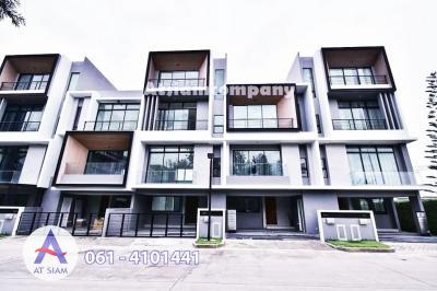 For SaleTownhousePattanakan, Srinakarin : Townhome for sale 3 floors Nirvana Define 21. 6 sq. wa. Nirvana Define Srinakarin - Rama 9 [6406-7011007]
