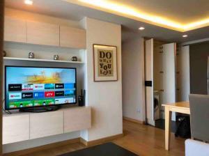 For RentCondoSukhumvit, Asoke, Thonglor : Condo for rent Via Botani Condo Sukhumvit 47 Type 2 bedroom 2 bathroom Size 74.5 sq.m. Floor 7