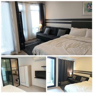 For RentCondoRatchadapisek, Huaikwang, Suttisan : Condo for rent, Aspire Asoke Ratchada, size 25 Sq.m Studio, price only 12000 !!!