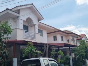 For SaleHouseNonthaburi, Bang Yai, Bangbuathong : House for sale in Bang Bua Thong, Lalil in the Park, Bang Yai, size 39.9 sq.wa., add the roof around the house.