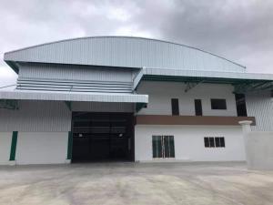 For RentWarehouseMahachai Samut Sakhon : Rent a new warehouse, size 1,500 sq.m., Rama 2, Samut Sakhon province.