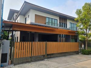 เช่าบ้านพัฒนาการ ศรีนครินทร์ : ให้เช่าหมู่บ้าน ลุมพินี สวนหลวง ร9  ติดถนนใหญ่ ราคาพิเศษ!!!!