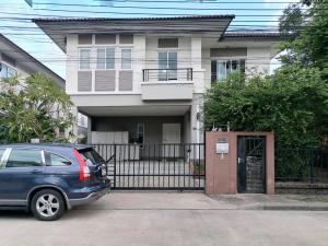 เช่าบ้านสำโรง สมุทรปราการ : ให้เช่า บ้านเดี่ยวพร้อมอยู่ บนทำเลทอง โครงการ The Plant Bangna (รหัสทรัพย์ NEW-OP166) T.091-091-0901 Nook