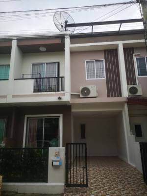 For SaleTownhouseMahachai Samut Sakhon : Townhouse for sale, Baan Dee University, Bang Torad 3