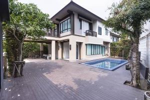For SaleHouseNawamin, Ramindra : 🔥🔥🔥 Urgent sale!!️ 2 storey detached house 🏡 with private swimming pool ✨ Setthasiri Phahon-Watcharaphon project from Sansiri @JST Property.