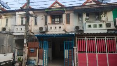 For SaleTownhouseRamkhamhaeng,Min Buri, Romklao : 7788 Townhouse for sale KC 1 Hathairat 39 Soi Wat Panthong, cheap installment, worth more than renting.