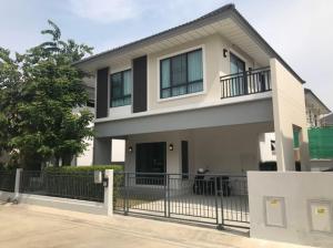 For RentHouseBangbuathong, Sainoi : RH577 House for rent, 3 bedrooms, 3 bathrooms, Modi Villa Chaiyapruek village.