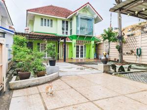 For SaleHouseRamkhamhaeng Nida, Seri Thai : 2 storey detached house for sale, Patra Village, Ramkhamhaeng 76, near the orange line. near Lamsalee intersection and expressway