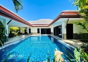 For SaleHousePattaya, Bangsaen, Chonburi : House for sale, Pool villa, beautiful, luxurious, full function, new built-in, special throughout